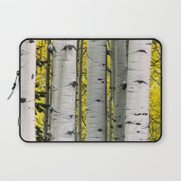 Into the Aspen Woods Laptop Sleeve