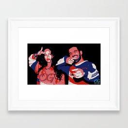 Feel No Ways Framed Art Print