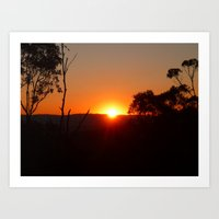 Pure Sunrise Art Print