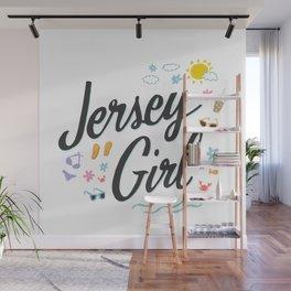 Jersey Girl Wall Mural