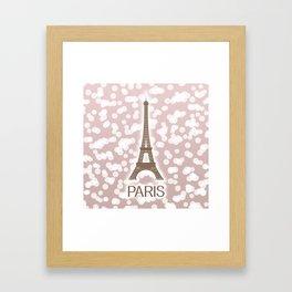 Paris: City of Light, Eiffel Tower Framed Art Print