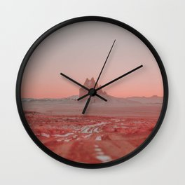 Shiprock / New Mexico Desert Wall Clock