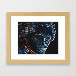 Fate's Knocking  Framed Art Print