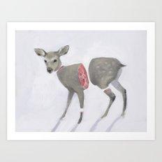 Poor Bambi Art Print