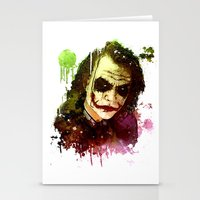 joker Stationery Cards featuring Joker by Sirenphotos
