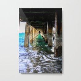 Below The Docks Metal Print