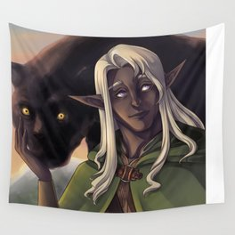 Drizzt Do'Urden Wall Tapestry