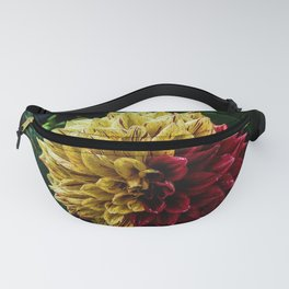 Yellow Red Petal Flower Artistic Photography close up shot Fanny Pack