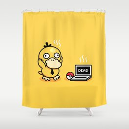 Psyduck in real life Shower Curtain
