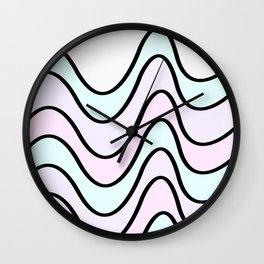 Pattern 5 v Pastel Wall Clock