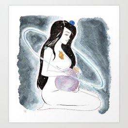 Mother Universe Art Print