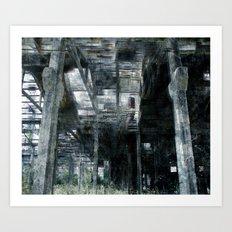Factory 4 Art Print