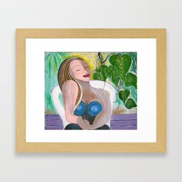 """Gretchen In Repose"" Framed Art Print"