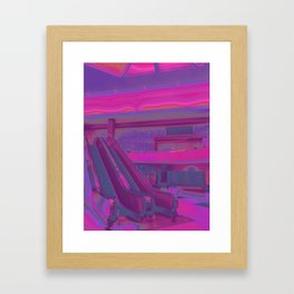 Retail Disco Framed Art Print