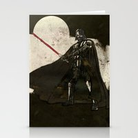 darth vader Stationery Cards featuring Darth Vader by Peter Coleman
