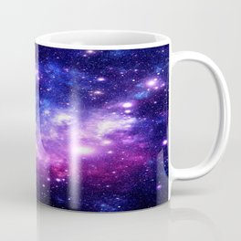 Purple Blue Galaxy Nebula Coffee Mug