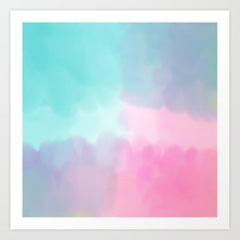 Summer is coming 5 - Unicorn Things Collection Art Print