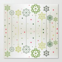 deco Canvas Prints featuring Holidays Deco by Elena Indolfi