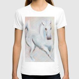 white horses T-shirt