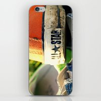 converse iPhone & iPod Skins featuring Converse by americansummers