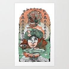 As Predicted Art Print