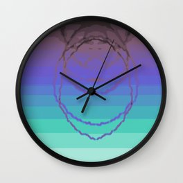 Psychedelica Chroma XXV Wall Clock