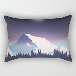Lake at night Rectangular Pillow
