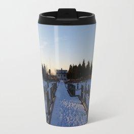 Ocean Snow Travel Mug