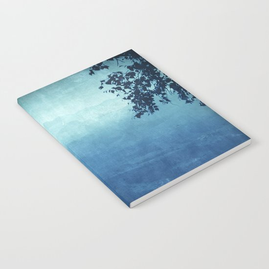 Blue Mountain Haze Notebook