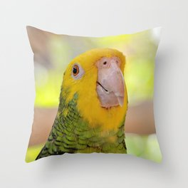 You Know I Am Cute Throw Pillow
