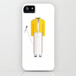British Singer, Songwriter and Record Producer Minimal Sticker iPhone Case