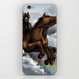 Odin and Sleipnir iPhone Skin