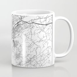 Minimal City Maps - Map Of Knoxville, Tennessee, United States Coffee Mug