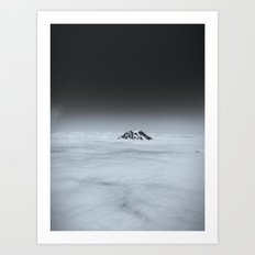 Higher than the Clouds (with an iPhone) Art Print