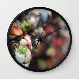 A Work of Art Bubblegum Alley Wall Clock