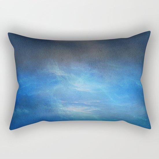 Blue water melody Rectangular Pillow