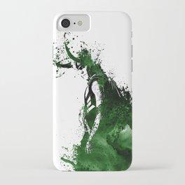 Loki Watercolor iPhone Case