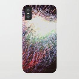 Electric night iPhone Case