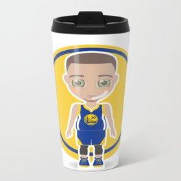 Steph Curry Metal Travel Mug