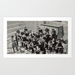 French Band Art Print