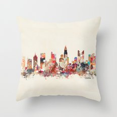 columbus ohio Throw Pillow