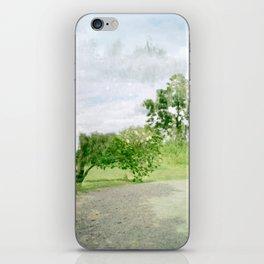 ghost tree iPhone Skin