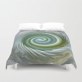 Abstract Mandala 253 Duvet Cover