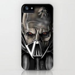 Darth V prototype mask iPhone Case