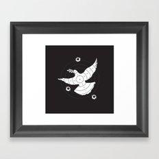 Aim for Peace Framed Art Print