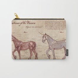 Anatomy of the Unicorn Carry-All Pouch