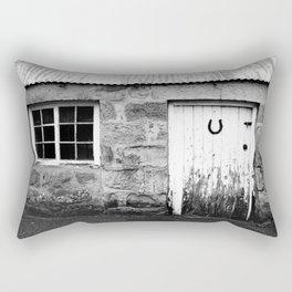 Lucky Scottish Door Rectangular Pillow