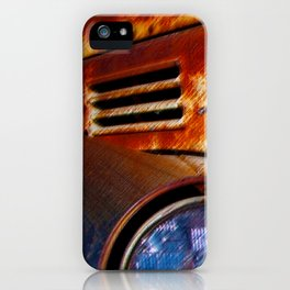 Rusty Gold Ford iPhone Case
