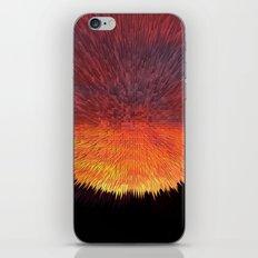 Explosive Sunset iPhone & iPod Skin