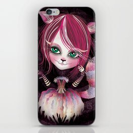 Cheshire Kitty iPhone Skin